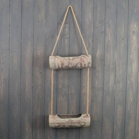The Satchville Gift Company Two Tier Hanging Container