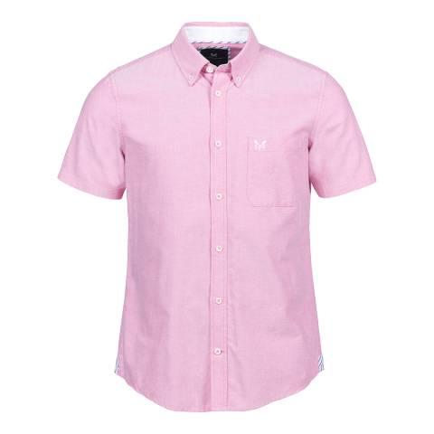 Crew Clothing Pink Heritage Oxford Shirt