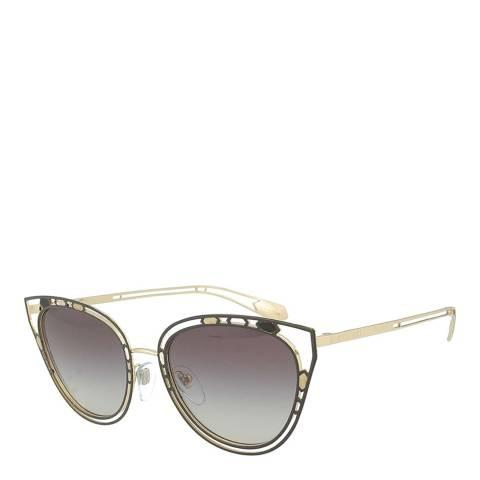 Bvlgari Women's Gold Bvlgari Sunglasses 54mm