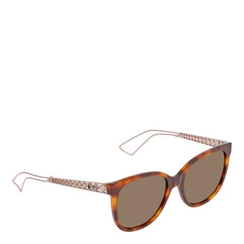 Dior Women's Pink Dior Sunglasses 56mm