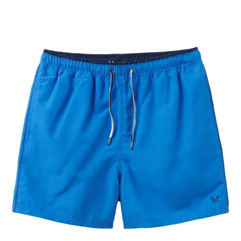 Crew Clothing Bright Blue Seapoint Swim Short