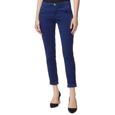 J Brand Indigo Paz Slim Tapered Stretch Jeans