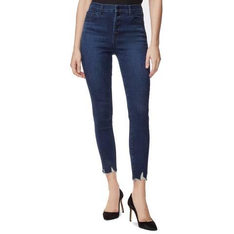 J Brand Indigo Lillie Skinny Stretch Jeans