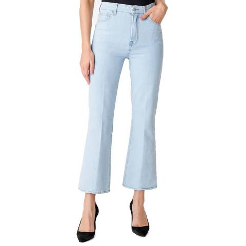 J Brand Light Blue Julia Kick Flared Stretch Jeans