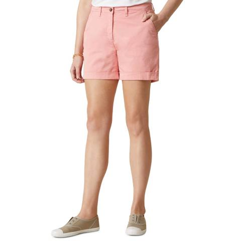Jigsaw Pink Tapered Chino Shorts