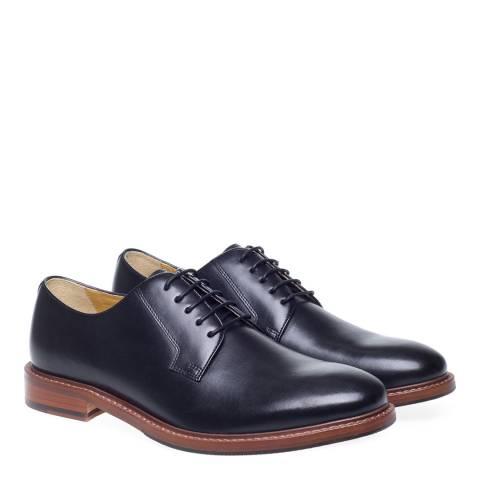 Steptronic Black Banbury Formal Shoes