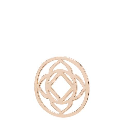 Daisy Jewellery 18ct Rose Gold Plate Base Chakra Halo Coin