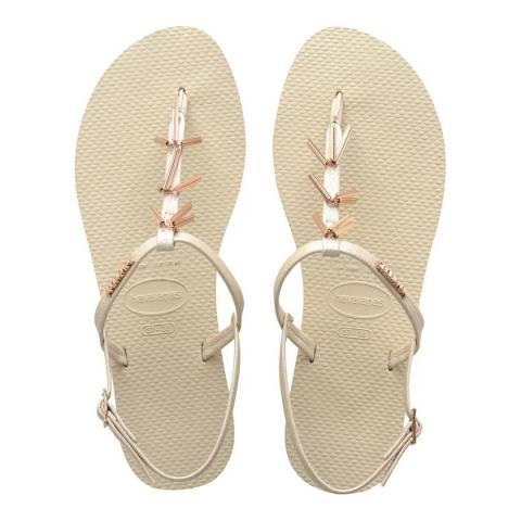 Havaianas Maxi Beige You Riviera Sandals