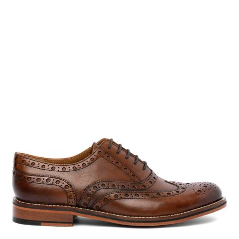 Chapman & Moore Chocolate Leather Oxford Brogues