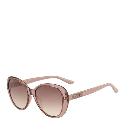 Jimmy Choo Womens Beige Jimmy Choo Sunglasses 57mm