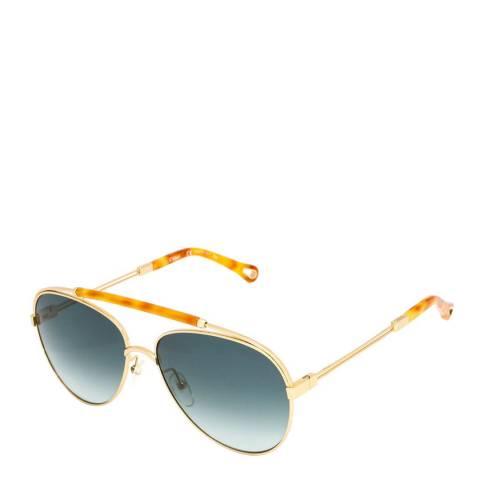 Chloe Womens Blue Chloe Sunglasses 59mm