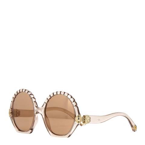 Chloe Womens Beige Chloe Sunglasses 56mm