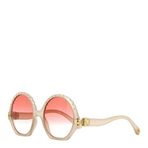 Chloe Womens Beige Chloe Sunglasses 56mm