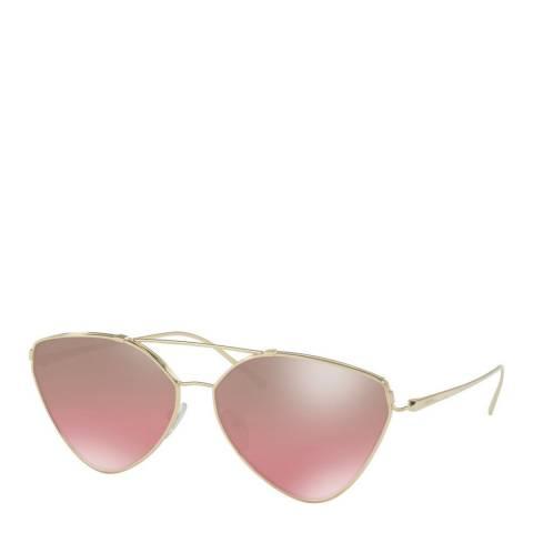 Prada Womens Pink Prada Sunglasses 62mm