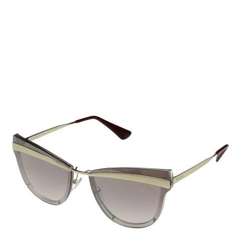 Prada Womens Silver Prada Sunglasses 65mm