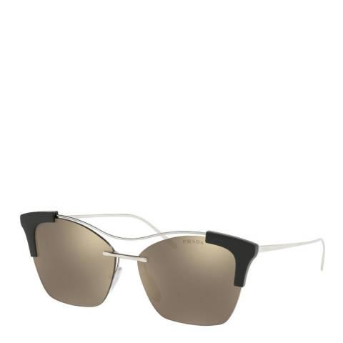 Prada Womens Black Prada Sunglasses 56mm