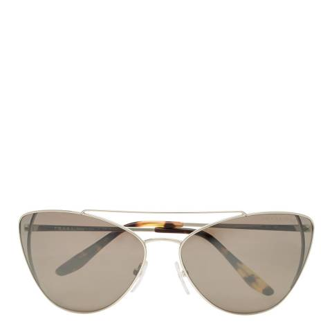 Prada Womens Gold Prada Sunglasses 68mm