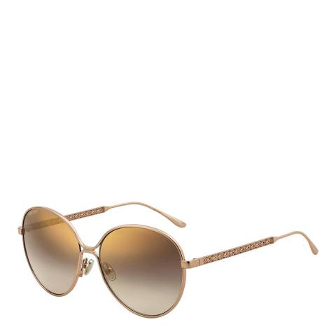 Jimmy Choo Womens Beige Jimmy Choo Sunglasses 60mm