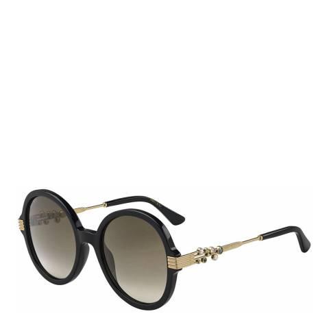 Jimmy Choo Womens Black Jimmy Choo Sunglasses 55mm