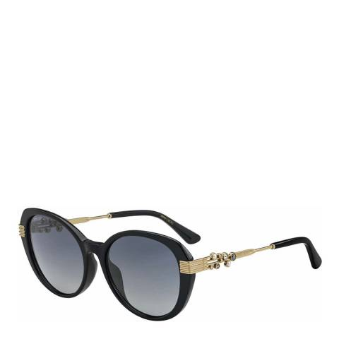 Jimmy Choo Womens Black Jimmy Choo Sunglasses 56mm