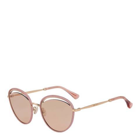 Jimmy Choo Womens Beige Jimmy Choo Sunglasses 59mm
