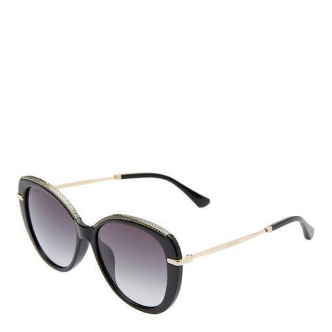 Jimmy Choo Womens Gold Jimmy Choo Sunglasses 56mm