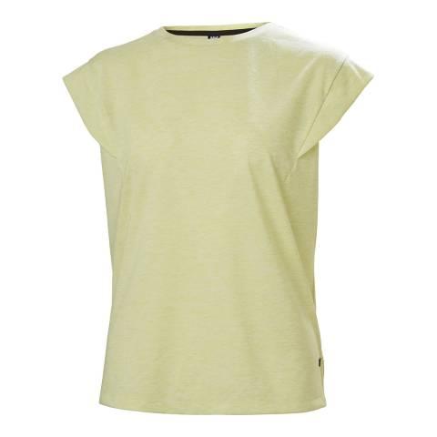 Helly Hansen Women's Yellow Siren Spring T Shirt