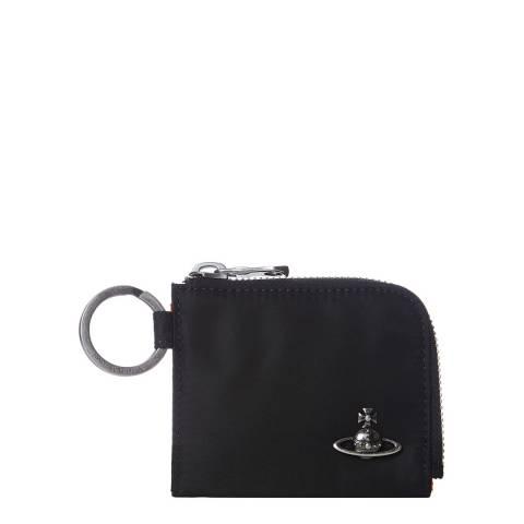Vivienne Westwood Black Parachute Soft Card Case