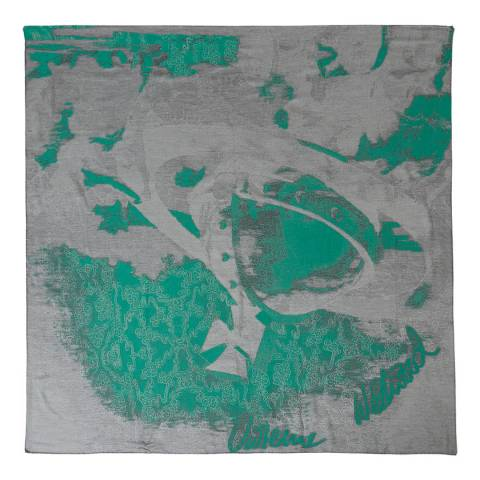 Vivienne Westwood Washed Black Stole 140x140
