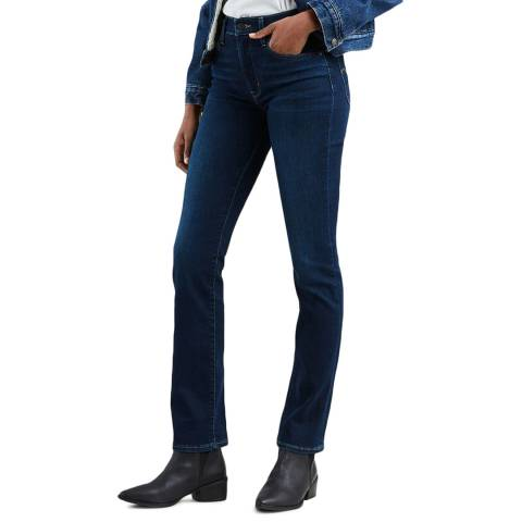 Levi's Indigo 724™ Straight Stretch Jeans