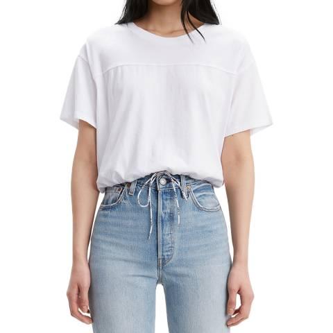 Levi's White Drawstring T-Shirt