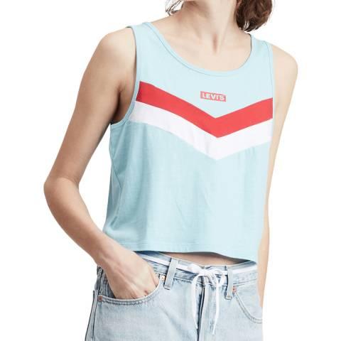 Levi's Blue Florence Vest