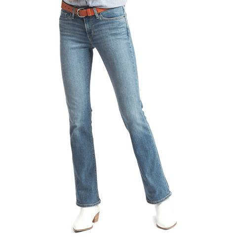 Levi's Blue 715™ Bootcut Stretch Jeans
