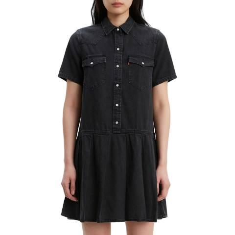 Levi's Black Mirai Western Dress