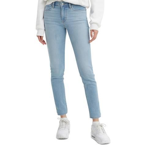 Levi's Light Blue 711™ Skinny Stretch Jeans