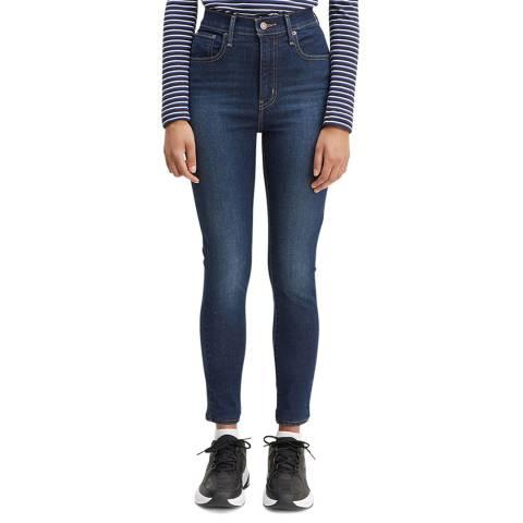 Levi's Dark Denim Mile High Super Skinny Stretch Jeans