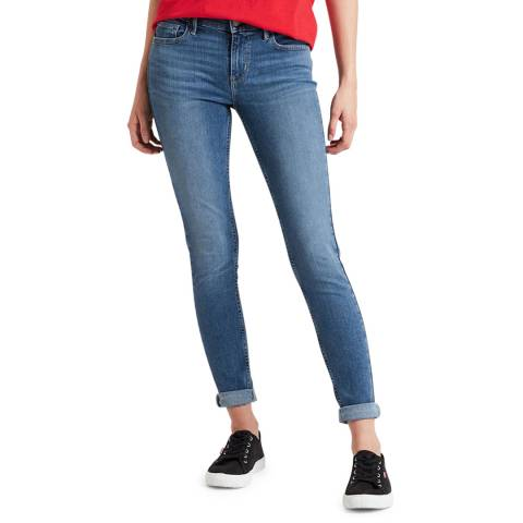 Levi's Blue Innovation Super Skinny Stretch Jeans