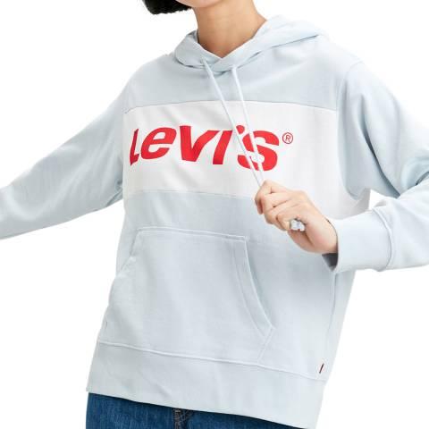 Levi's Blue Sport Logo Hoodie