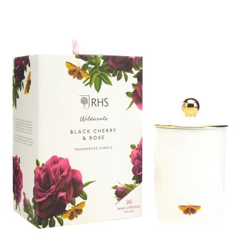 Wax Lyrical W/F Ceramic Black Cherry & Rose