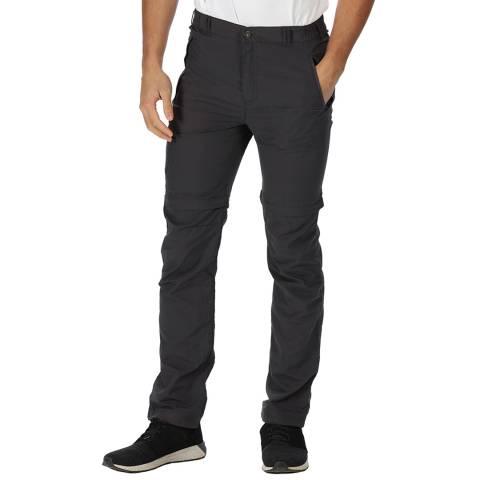 Regatta Grey Leesville D96O Trousers