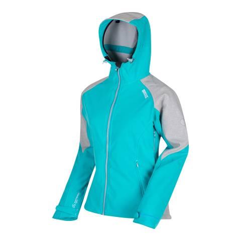 Regatta Light Blue Desoto III Soft shell Jacket