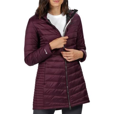 Regatta Purple Beaudine Baffled/Quilted Jacket