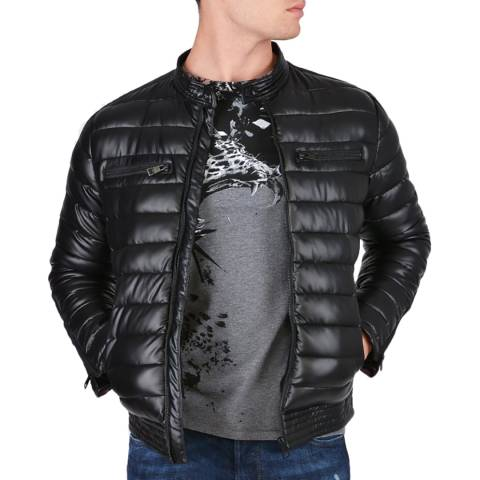 Just Cavalli Black Kaban Puffer Jacket