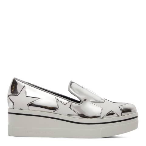 Stella McCartney Silver Binx Stars Loafer