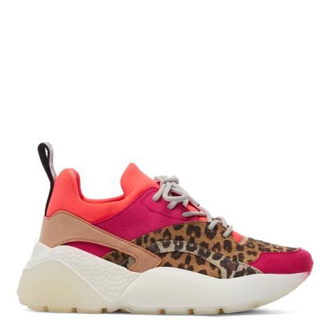 Stella McCartney Fuschia Pink Multi Eclypse Sneakers