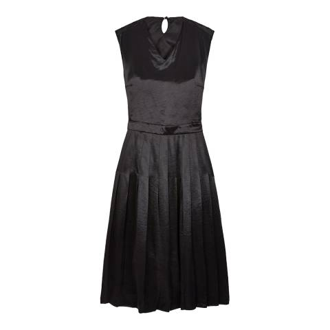 ALEXA CHUNG Black Pinafore Dress