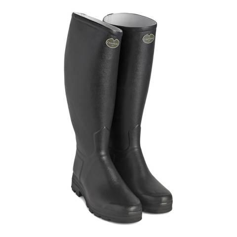 Le Chameau Women's Noir Saint Hubert Boots