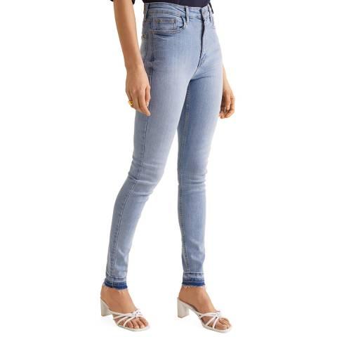 Mango Blue Soho Stretch Jeans