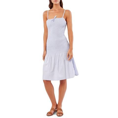 Solid & Striped Sky Smocked Poplin Dress