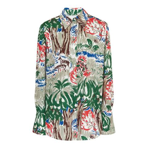 VICTORIA, VICTORIA BECKHAM Jungle Classic Shirt